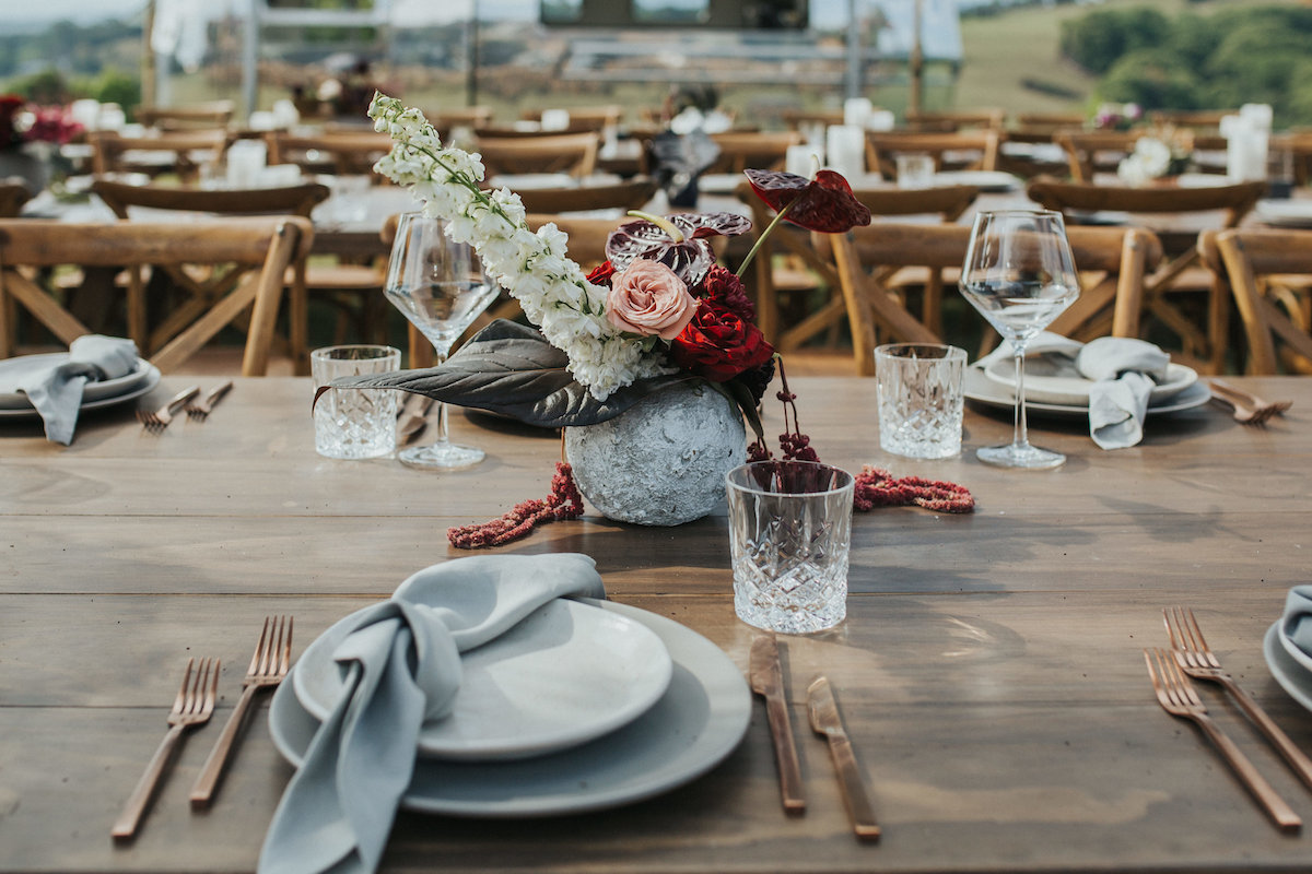 Sam and Nathan | The Orchard Estate, Byron Bay Wedding | Styled by The Events Lounge