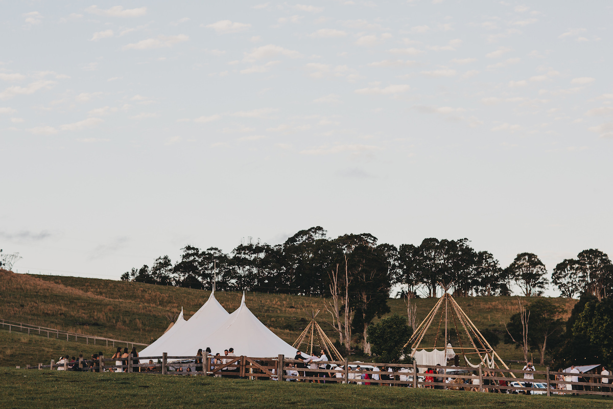 Real Wedding: Kim + Gabe, a Festival Romance in the Byron Bay Hinterland | The Events Lounge, Byron Bay Wedding Planner