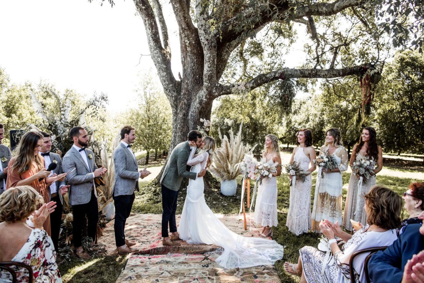 Real Wedding: Ellie + Alex, The Orchard Estate Byron Bay Wedding   Styled by The Events Lounge, Byron Bay Wedding Planner
