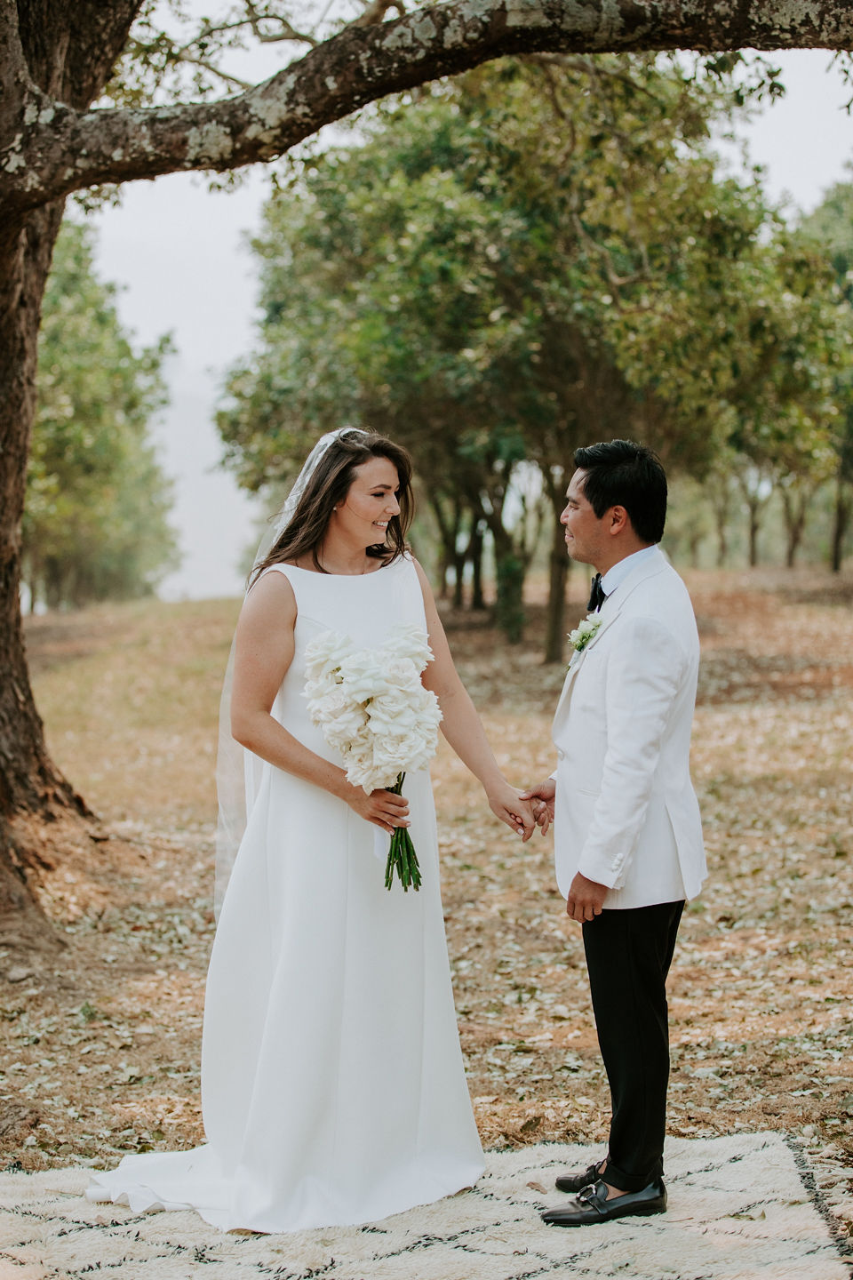Claudia + Paulie's Modern Luxe Wedding at The Orchard Estate, Byron Bay | The Events Lounge Wedding Planning